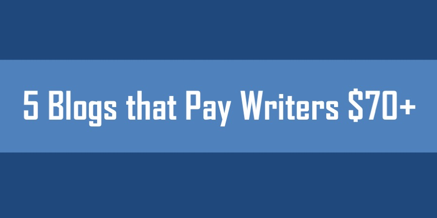 blogs pay writers per article