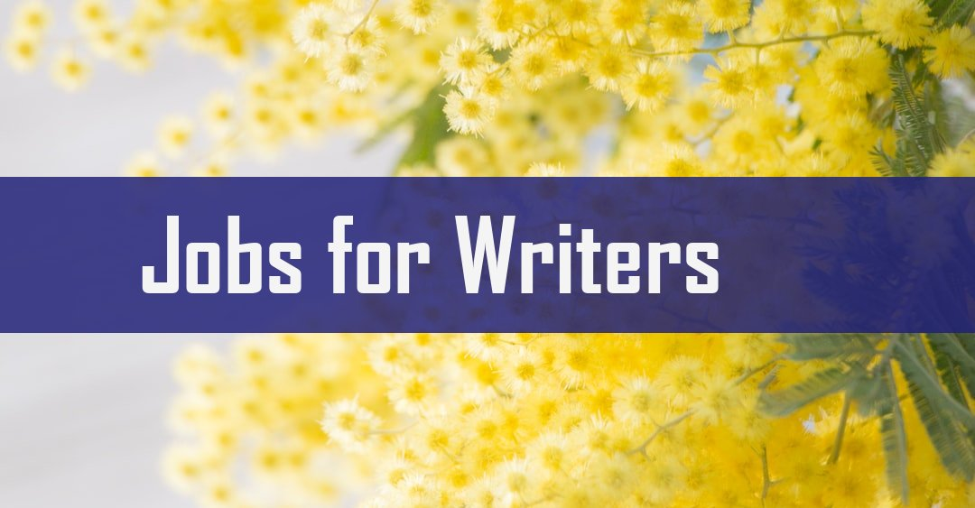 20 Full Time & Remote Jobs for Writers